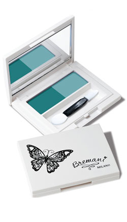 Eye shadow Mint Ice-cream, Тени для век зеленые Мятное Мороженое изображение